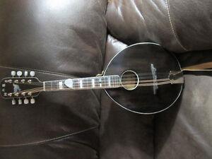 Handmade custom army-navy style mandolin