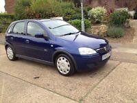 2005 Vauxhall Corsa 1.2 i LPG 16v Design 5dr (a/c) ,full yers MOT & FSH