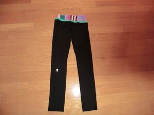 "Ivivva LuluLemon ""Rythmic Tights"" Size 8"