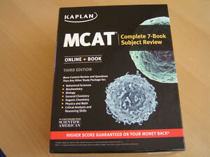 MCAT Complete 7 Book Subject Review set. Brand new,never used!!
