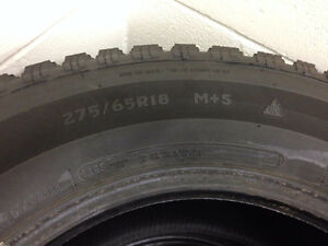275/65R18 Winter Tires x4