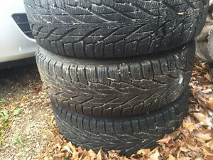 Winter Tire Set - Dodge Caravan / VW Routan