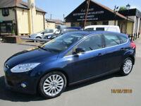 2012 Ford Focus TITANIUM X TURBO 1.0 CC PETROL CAR Only 42,000 Miles