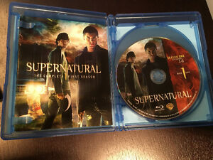 Supernatural season 1 Blu-ray - will deliver