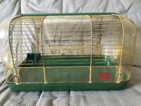 Hamster (or gerbil) cage and accessories