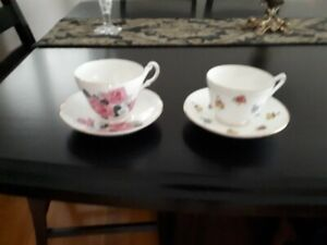 Antique China Cups & Saucers
