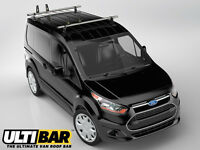 Ford Transit Connect Van Roof Bars - 2014 to 2016, LWB & SWB NEW