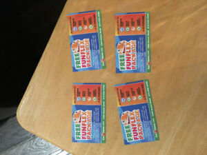 Fun Haven tickets - Fun pack (4 tickets)