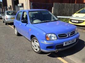 Nissan Micra 1.0 S (blue) 2000