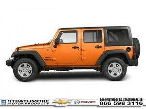 2012 Jeep Wrangler Unlimited Sport-Convertible-Auto-4x4-4 door