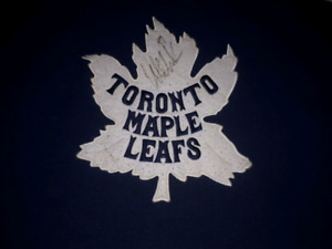 Toronto Maple Leaf sweaters.
