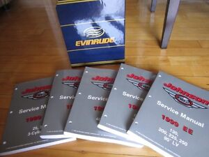ATV and Outboard service manuals