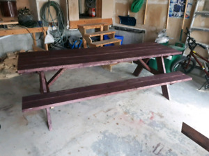 Handmade Picnic Tables