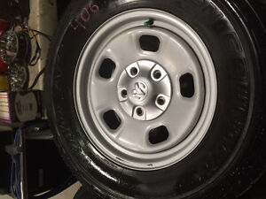 #406 SET OF 4 DODGE RIMS & TOYO OPEN COUNTRY TIRES 265/70R17
