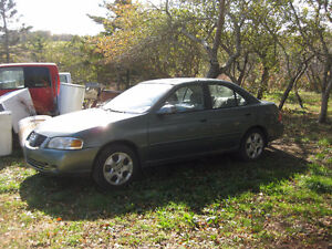 2005 Nissan Sentra parts or repair