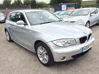 BMW 2.0 118 i SE 6 SPEED 5 DOOR 2006 / FULL SERVICE HISTORY / 2 KEEPERS / HPI CLEAR / 12 MONTH MOT