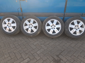 """16"""" inch Alloy wheels with tyres"""