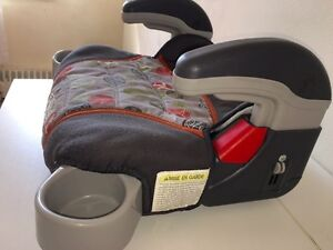 Child kids booster seat with arm rest cup holder