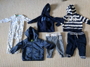 GAP baby boy 6-12 month clothes lot