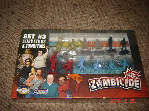 Zombicide game pieces, figures, stat cards. London Ontario image 4