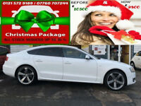 2011 AUDI A5 2.0TDI SPORTS BACK 143 DRIVE EXCELLENT ( AA ) WARRANTED INCLUDED