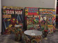 Superhero room decorations