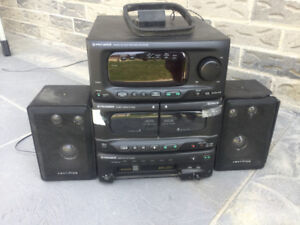 Pioneer XR-P4500M Stereo System