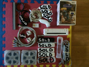 Wii console - accessoires - games a vendre
