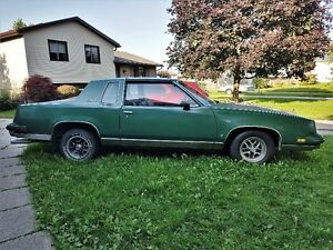 2 Cutlass Supreme's (T Top and Hard Top) For sale *together*