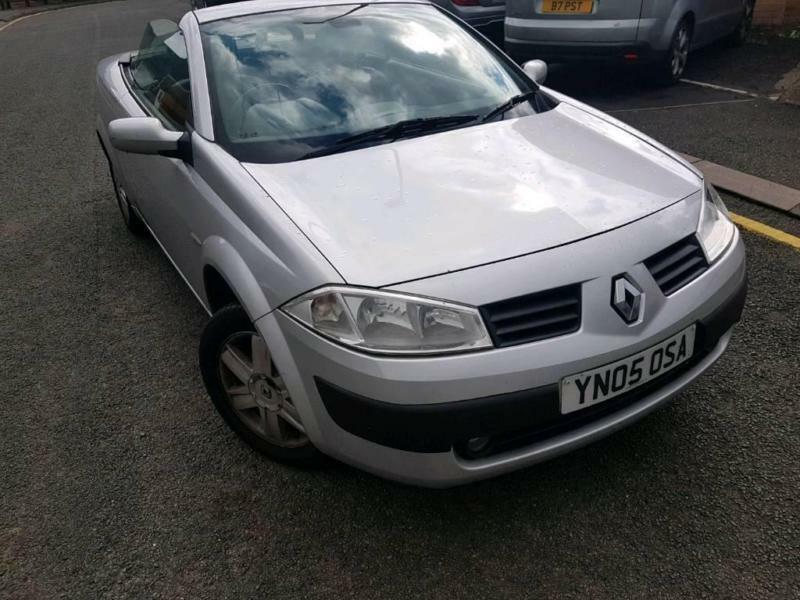 renault megane convertible 2005 in leicester leicestershire gumtree. Black Bedroom Furniture Sets. Home Design Ideas