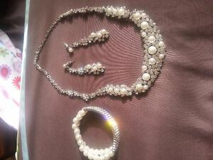 Bridal jewellery set Windsor Region Ontario image 2