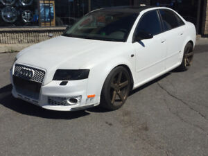 2005 Audi A4 2.0T ON AIR RIDE!!!!!!!!!!from AIR LIFT
