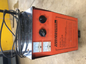 Chicago Electric battery charger booster