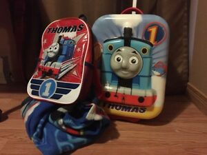 Thomas the Train Suitcase, Backpack and Snuggie