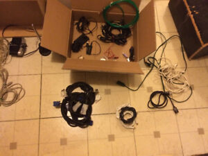 Box of cables/adapters - $30 obo