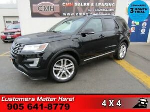 2016 Ford Explorer XLT  4X4 NAV LEATH ROOF CAM P/GATE BS 2X-P/SE