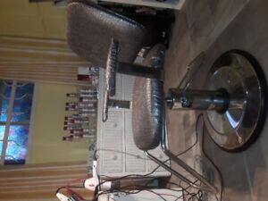 Chaise de coiffure hydraulique et chaise lavabo