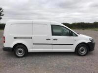 Volkswagen Caddy 1.6TDI 102PS VAN EURO 5 DIESEL MANUAL WHITE (2013)