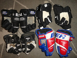 """3 Sets of Youth Hockey Gloves & """"1 NEW Pair"""" London Ontario image 2"""