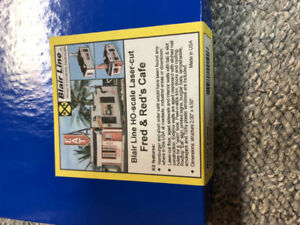 Model Railroad HO Blair Line Fred & Reds cafe FSM kit - New