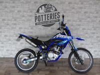 Yamaha WR125R *clean example with graphics kit and exhaust*