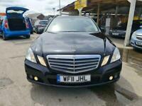 2011 Mercedes-Benz E Class E220 CDI BlueEFFICIENCY SE 5dr Tip Auto, MOT 12 MONTH