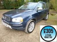 2011 Volvo XC90 2.4 D5 200 Executive Geartronic Auto AWD 7Seat 5dr Estate Diesel