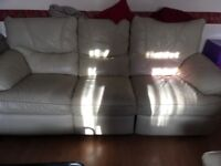 FREE! Three piece leather suite