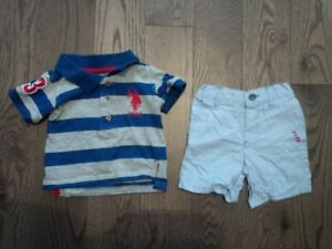 Summer Outfit - U.S. Polo 12M BRAND NEW