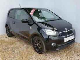2014 64 SKODA CITIGO 1.0 BLACK EDITION 3D 59 BHP