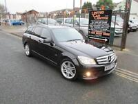 Mercedes-Benz C Class 2.1CDI C220 Blue F Sport Estate 5d 2145cc auto