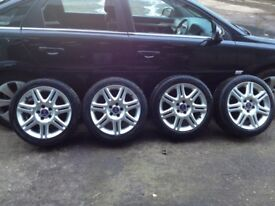 SAAB 9-5 sport alloys and tyres