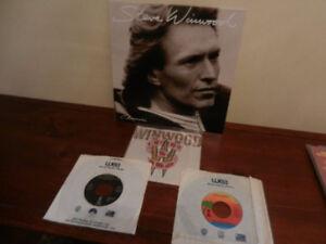 Vinyl Records/LP Steve Winwood Chronicles Hits Lot of 4
