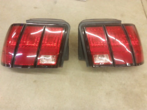 Mustang tail lights w/harnesses